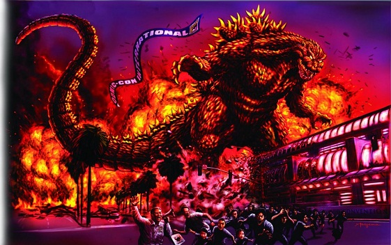 SDCC-Godzilla-Artwork
